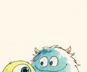 monster, baby, and disney image