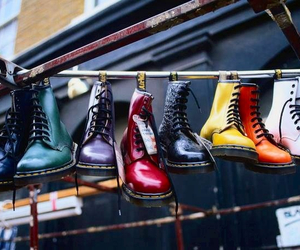 dr martens, grunge, and london image