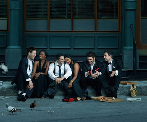 cast, photoshoot, and the mindy project image