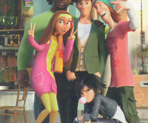 Fred, tadashi, and big hero 6 image