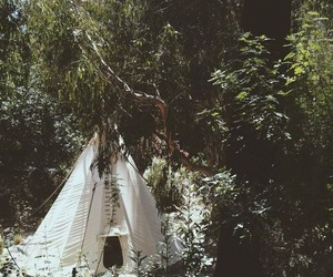 nature and hippie image