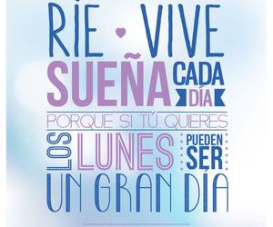 vive, sueña, and rie image
