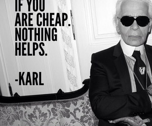 karl, cheap, and chanel image