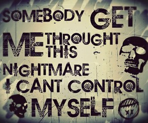 three days grace, animal i have become, and Lyrics image