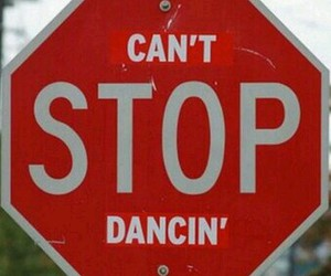 stop and dancing image