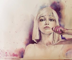 aquarelle, artwork, and colorful image