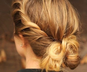 blonde, hairstyles, and hair image