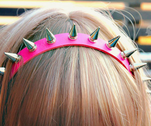 girl, hair, and spikes image