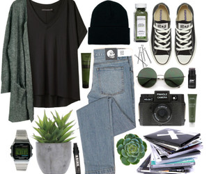 Polyvore, fashion, and grunge image