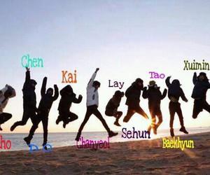 exo, kpop, and exo-k image