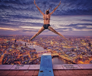diving, england, and london image