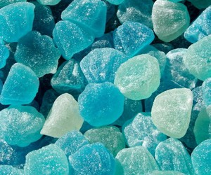 candy, food, and blue image