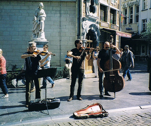 music, vintage, and brussels image