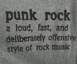 music, punk, and rock image