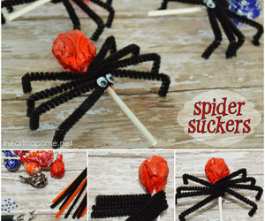 candy, diy, and spider image