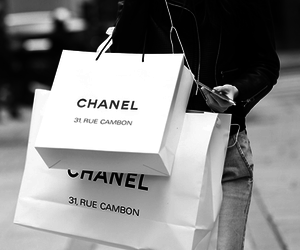 black and white, chanel, and classy image