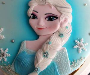 braid, frozen, and cake image
