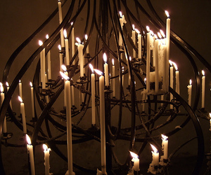 candelabra and candles image