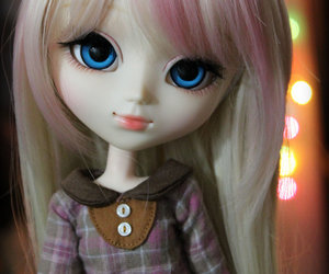 alice, bokeh, and doll image