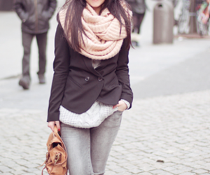 fashion, winter, and wheather image