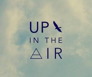 air, up in the air, and sky image