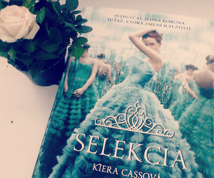 book, roses, and kiera cass image