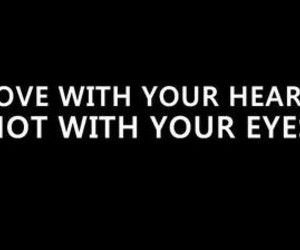 eyes, heart, and love image
