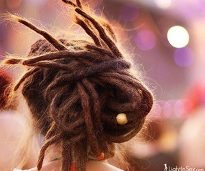 dreads, indie, and hippie image