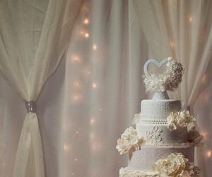 cake, decoration, and wedding image