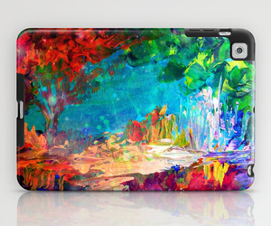 abstract art, Abstract Painting, and bold colors image