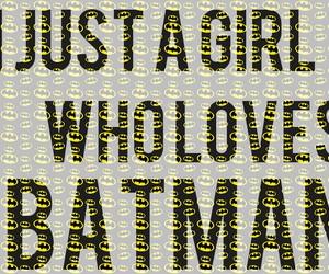 batman, black, and girl image
