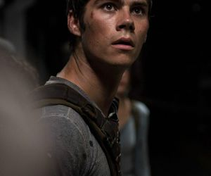 dylan, thomas, and maze runner image