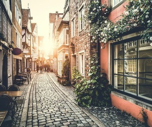 beautiful, street, and places image