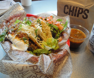 food, tacos, and chipotle image