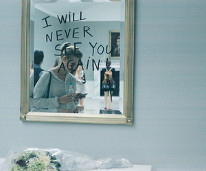 mirror, quotes, and text image