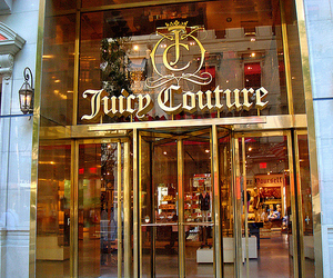 juicy couture, store, and pink image
