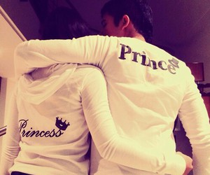 love, princess, and prince image