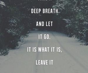 deep, let go, and sad image