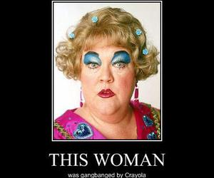 crayola, funny, and woman image