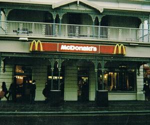 McDonalds, food, and vintage image