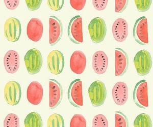 green, watermelon, and background image