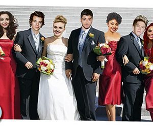 1d, little mix, and one direction image