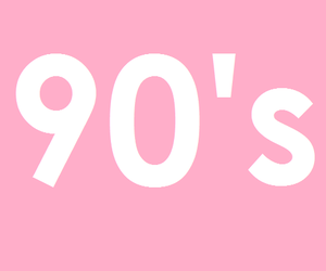 90s and pink image