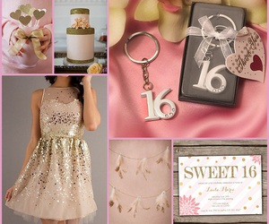 birthday, birthday party, and sweet 16 image