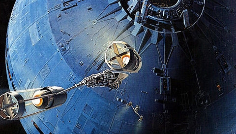 concept art, star wars, and scifi image