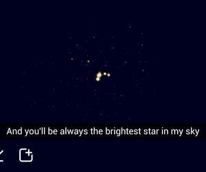stars, snapchat, and love image