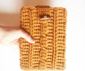 handmade gifts, ipad mini, and cable stitch image