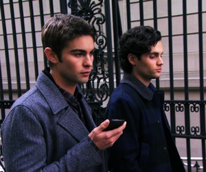 Chace Crawford, gossip girl, and Penn Badgley image