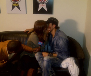 enrique iglesias, french kissing, and interview image