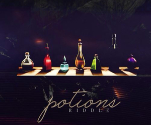 potions, harry potter, and hogwarts image